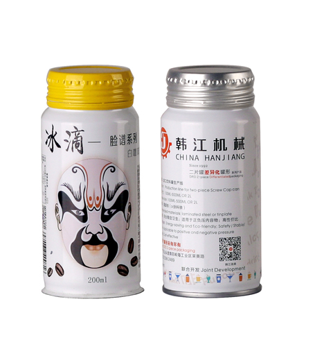 Screw Cap Beverage Can 旋口饮料罐